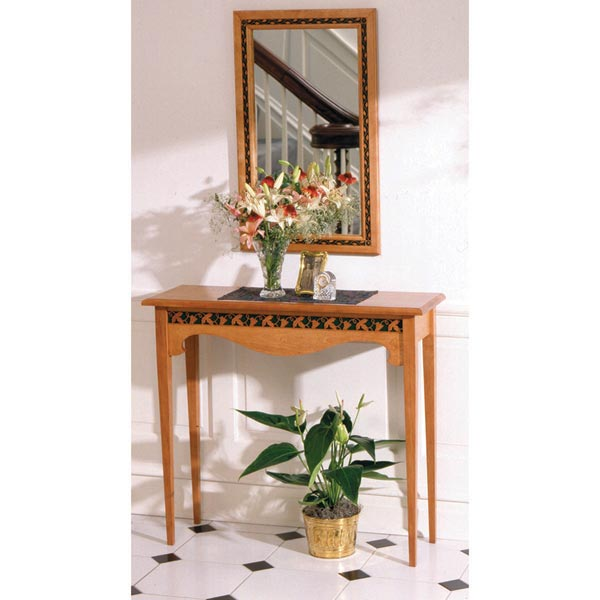 Entry Hall Table & Mirror
