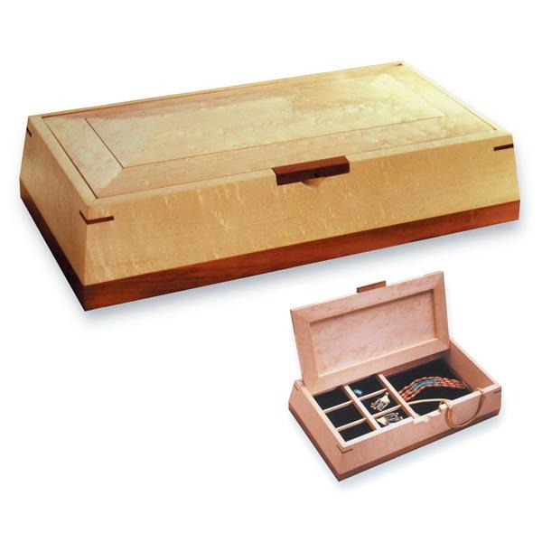 Beveled Beauty Jewelry Box
