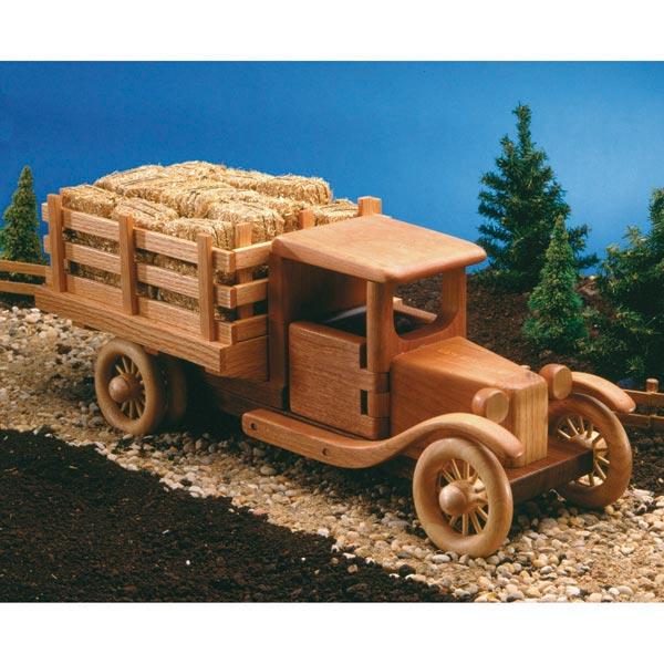 Farm Truck Woodworking Plan, Toys & Kids Furniture