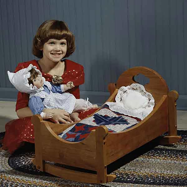 Sweet-Dreams Doll Cradle