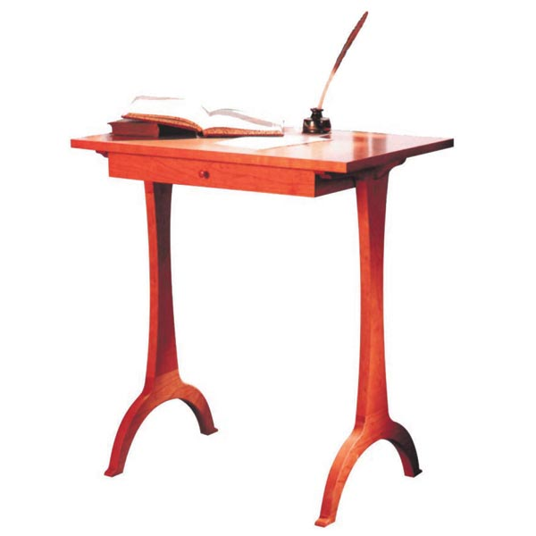 Shaker-Style Side Table Desk