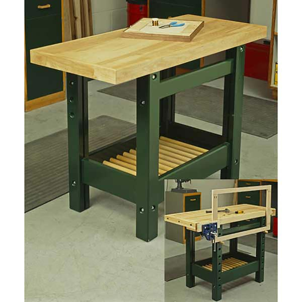Workhorse Workbench Woodworking Plan, Workshop & Jigs Workbenches