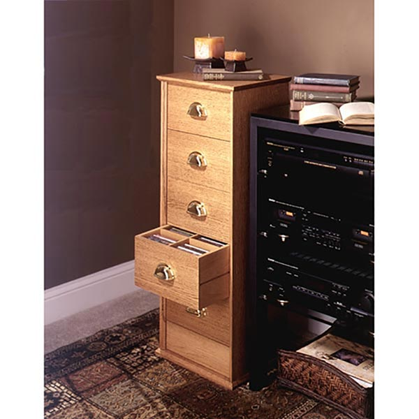 CD Storage Cabinet Woodworking Plan, Furniture Cabinets & Storage