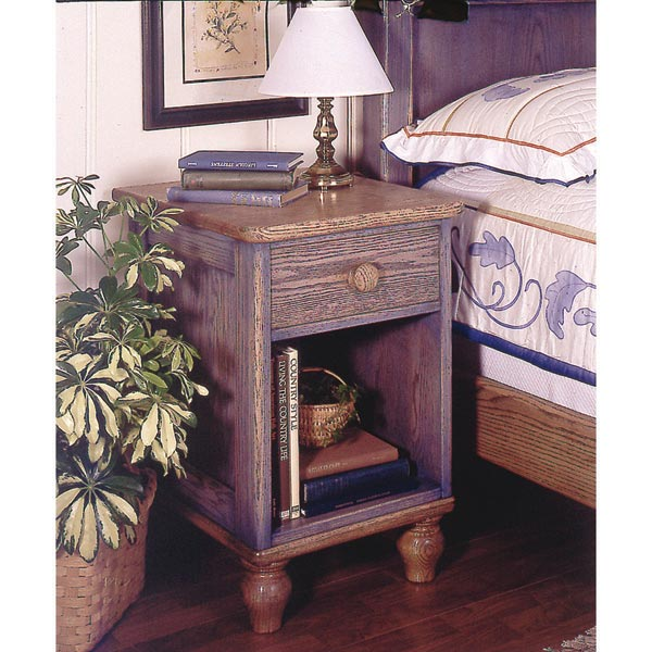 Country-Fresh Nightstand Woodworking Plan, Furniture Tables