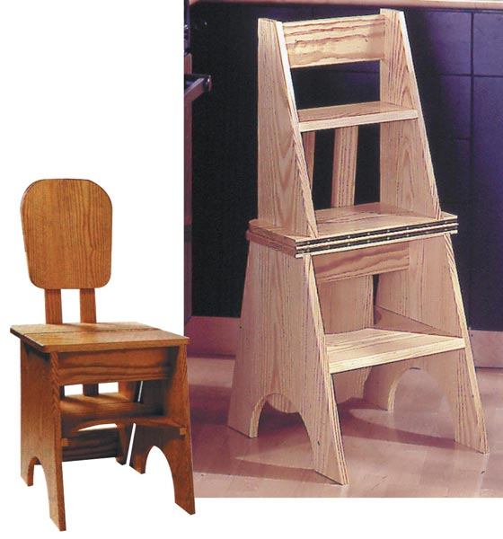 Two-In-One Seat/Step Stool