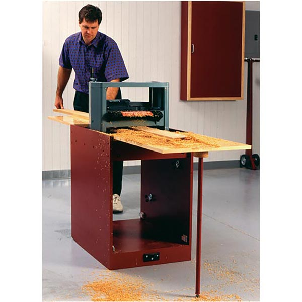 Portable Planer Thicknessing Center with Easy-Does-It Tool Mover