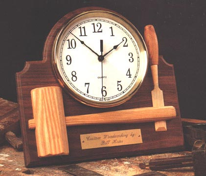 Signature Shop Clock