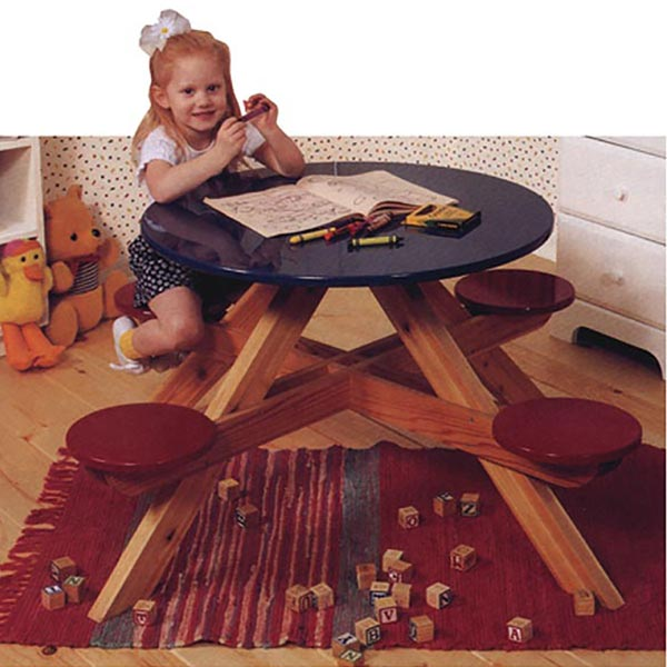 Four-Seater Picnic Table