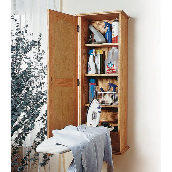 Ironing Board Hideaway Woodworking Plan From Wood Magazine