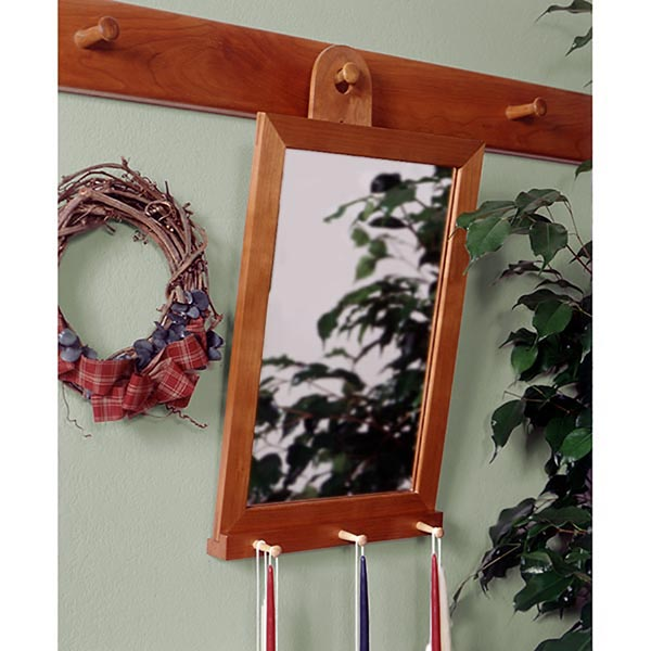 Shaker-Style Mirror