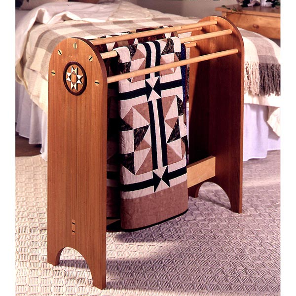 Shaker-Style Quilt Stand