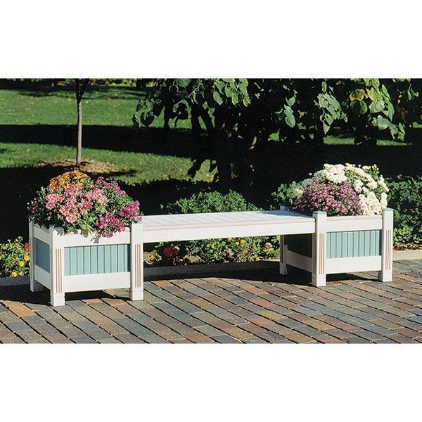Classic Garden Planter & Bench