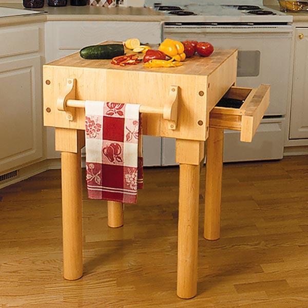 Kitchen Work Center Woodworking Plan, Gifts & Decorations Kitchen Accessories