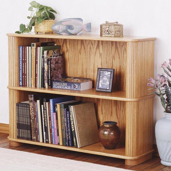 Tambour Bookcase