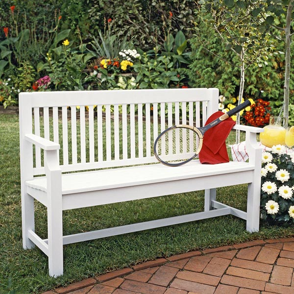 Sittin' Pretty Settee Woodworking Plan, Outdoor Outdoor Furniture