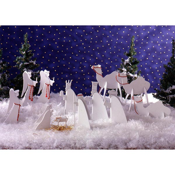 Tabletop Nativity Scene