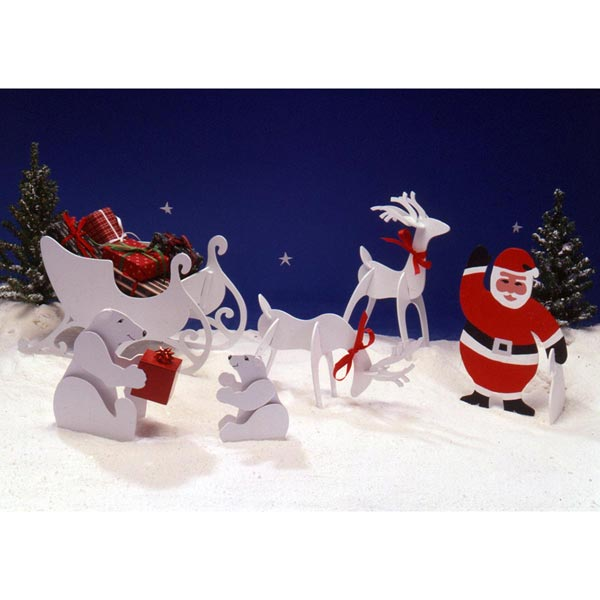Tabletop Christmas Figures Woodworking Plan, Holidays Gifts & Decorations Scrollsaw, Carving, & Decorative Projects