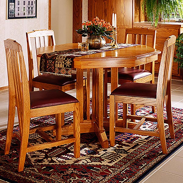Arts and Crafts Dining Table