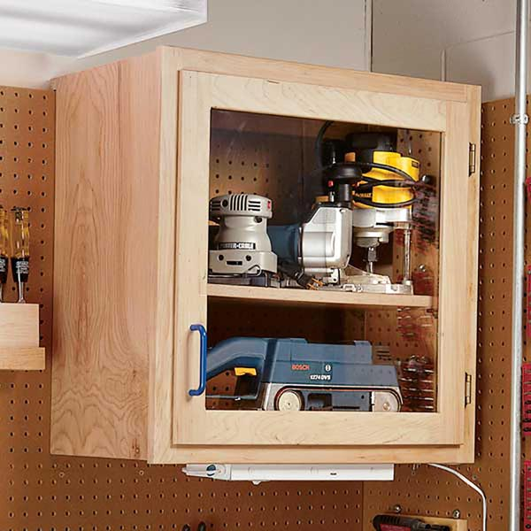 Modular Shop Cabinet System Woodworking Plan, Workshop & Jigs Shop Cabinets, Storage, & Organizers