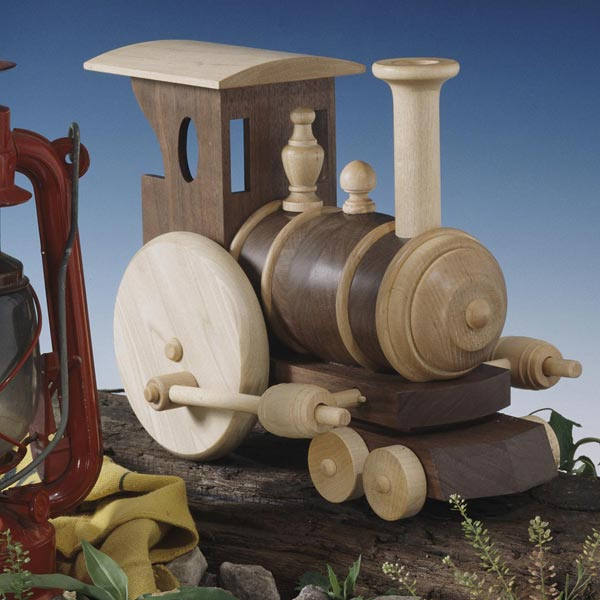 Chubby Choo-Choo Train Woodworking Plan, Toys & Kids Furniture