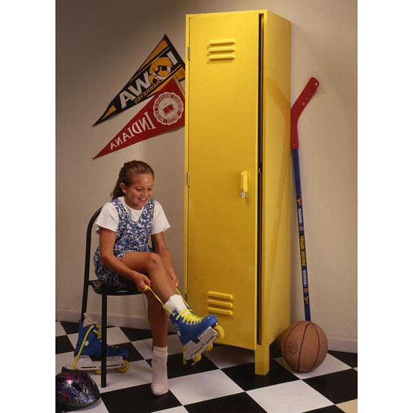 Kids' Sports Locker Woodworking Plan, Toys & Kids Furniture Furniture Cabinets & Storage