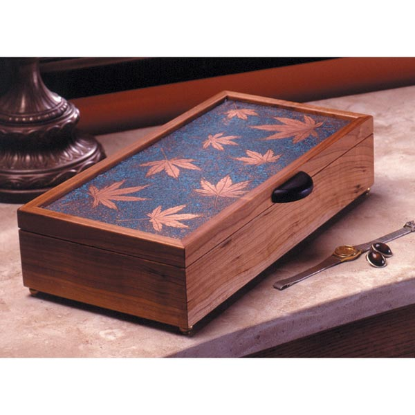 Patina-Topped Jewelry Box