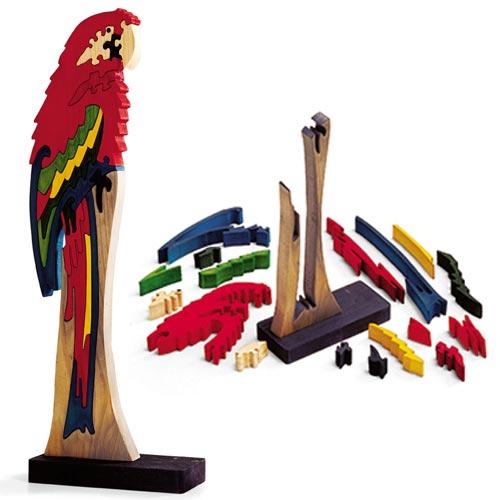 Scrollsawn Bird Puzzles
