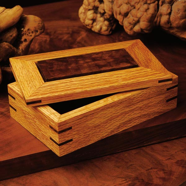 Splined Ornamental Box Woodworking Plan, Gifts & Decorations Boxes & Baskets