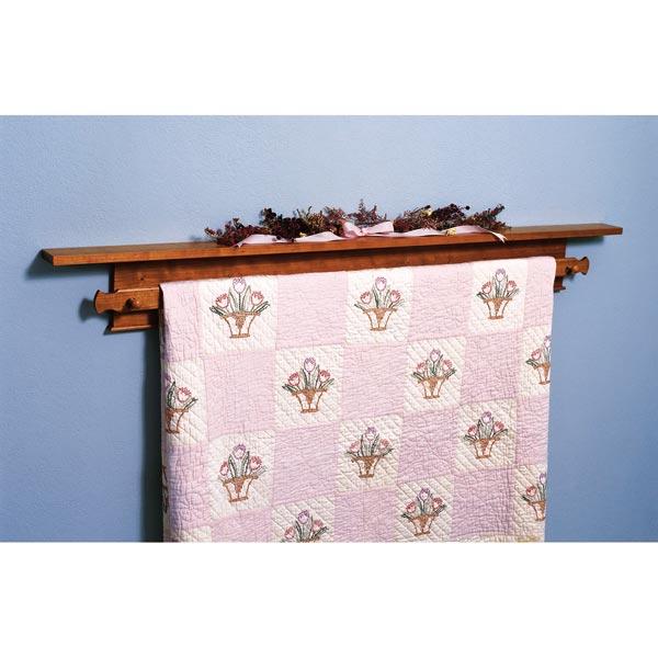 Shaker-Style Quilt Hanger