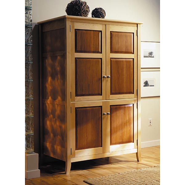 Armoire / TV Entertainment Center Woodworking Plan, Furniture Beds & Bedroom Sets Furniture Entertainment Centers