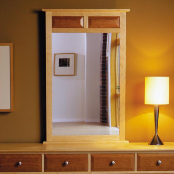 Maple & Cherry Mirror Woodworking Plan, Furniture Mirrors Furniture Beds & Bedroom Sets