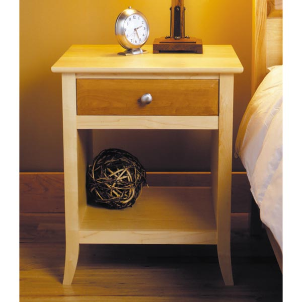 Maple & Cherry Nightstand