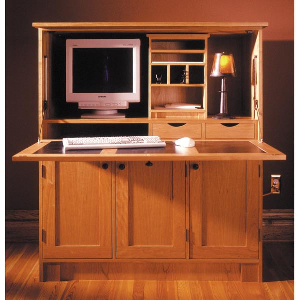 Home Office Hideaway Computer Desk