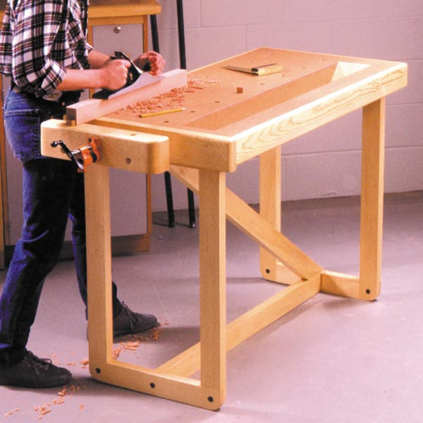 One Weekend Workbench Woodworking Plan, Workshop & Jigs Workbenches