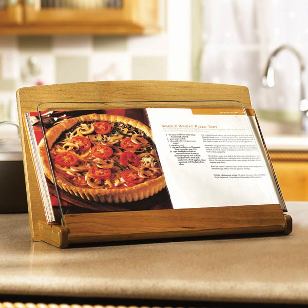 Cookbook Holder Woodworking Plan, Gifts & Decorations Kitchen Accessories