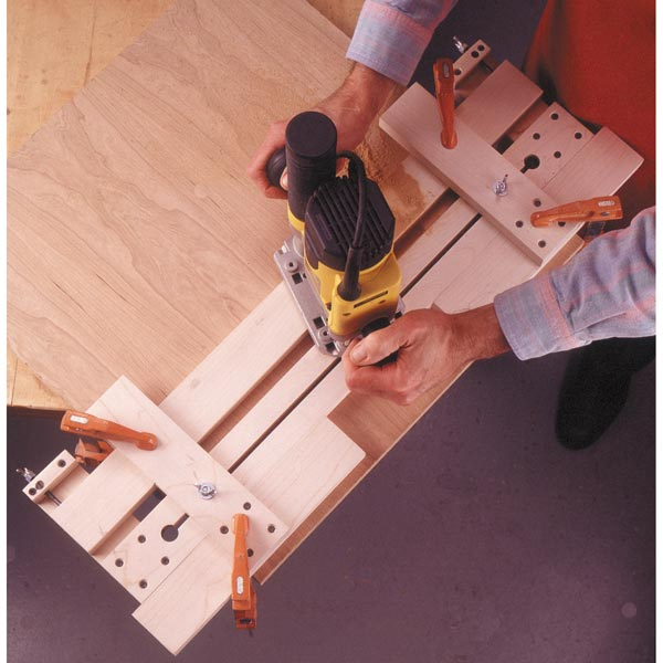 Fail-Safe Router Jig Woodworking Plan, Workshop & Jigs Jigs & Fixtures