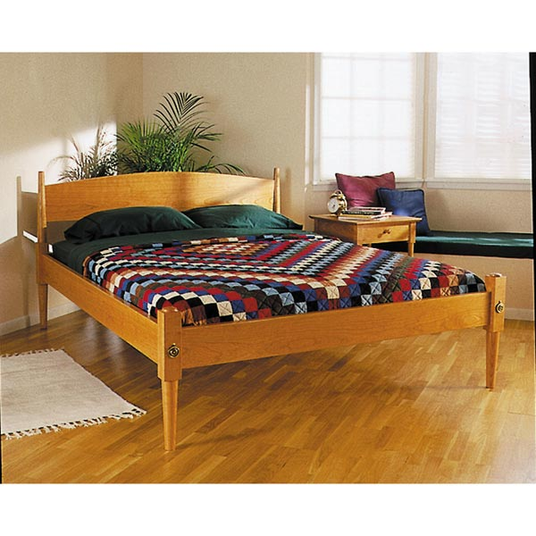 Easy and Elegant Shaker-Style Bed