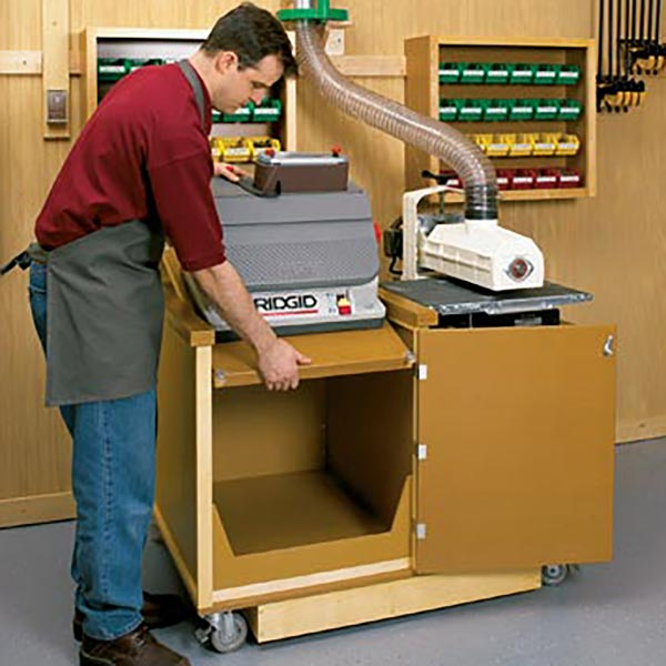 Dual-Purpose Sanding Center