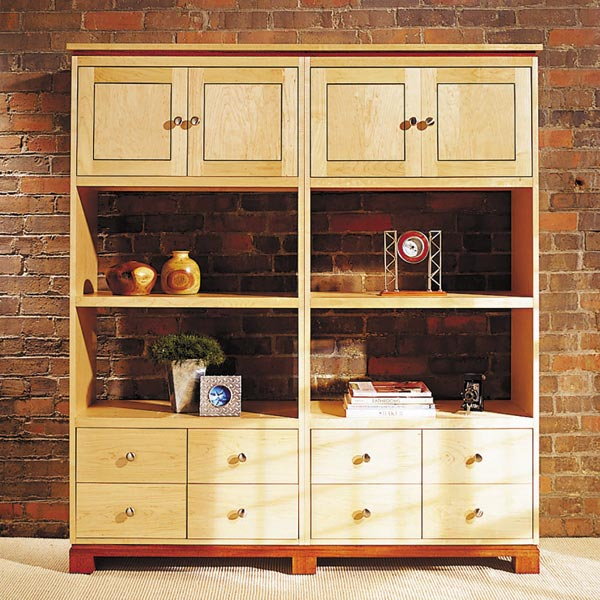 Knockdown Modular Cabinets Woodworking Plan, Furniture Cabinets & Storage