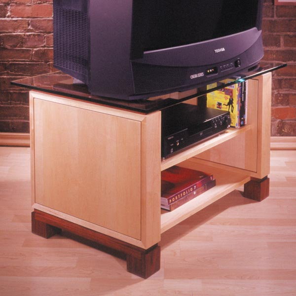 Television Stand Woodworking Plan, Furniture Entertainment Centers