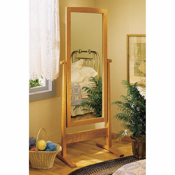 Easy and Elegant Cheval Shaker-Style Mirror