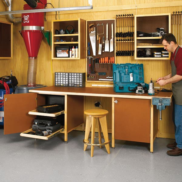 Tough-Stuff Workbench