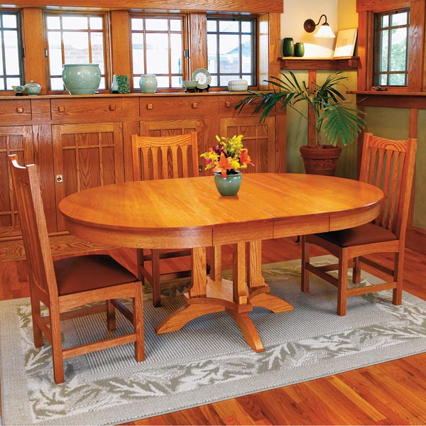 Dining Table Woodworking Plan, Furniture Tables