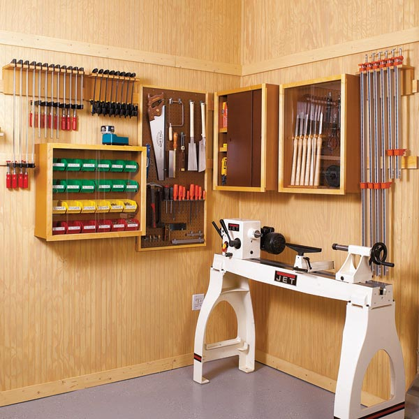Super-Flexible Shop Storage