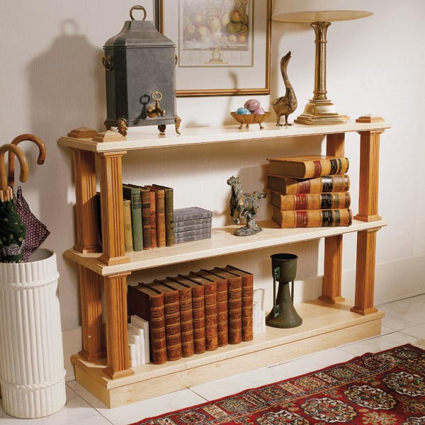 Strong-on-style shelf system Woodworking Plan, Furniture Bookcases & Shelving