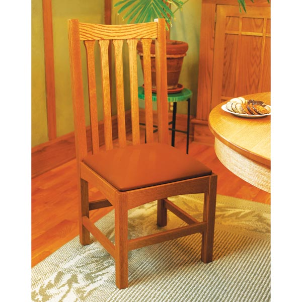 Dining Chair Woodworking Plan, Furniture Seating