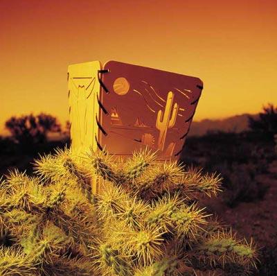 Desert dustbin