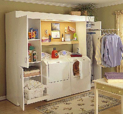 Full-service laundry center