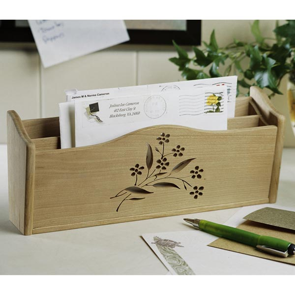 First-class letter box Woodworking Plan, Gifts & Decorations Office Accessories