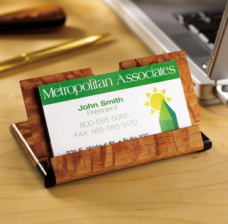 Business card case Woodworking Plan, Gifts & Decorations Office Accessories